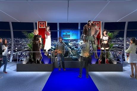 画像(012)「FFVII REMAKE」×東京スカイツリー,コラボの詳細情報が公開。スカイツリーが「魔晄の色」をイメージした特別ライティングに