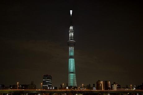 画像(016)「FFVII REMAKE」×東京スカイツリー,コラボの詳細情報が公開。スカイツリーが「魔晄の色」をイメージした特別ライティングに