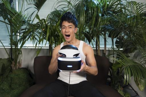 ps vr専用ゲーム robinson the journey 武井 壮さんによるプレイ動画