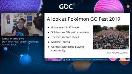 画像集#002のサムネイル/[GDC 2021]「ポケモンGO」の大型イベント・Pokémon GO Fest 2020を振り返る。初のバーチャル開催はどのように成功したか