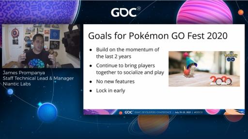 画像集#003のサムネイル/[GDC 2021]「ポケモンGO」の大型イベント・Pokémon GO Fest 2020を振り返る。初のバーチャル開催はどのように成功したか
