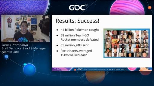 画像集#012のサムネイル/[GDC 2021]「ポケモンGO」の大型イベント・Pokémon GO Fest 2020を振り返る。初のバーチャル開催はどのように成功したか