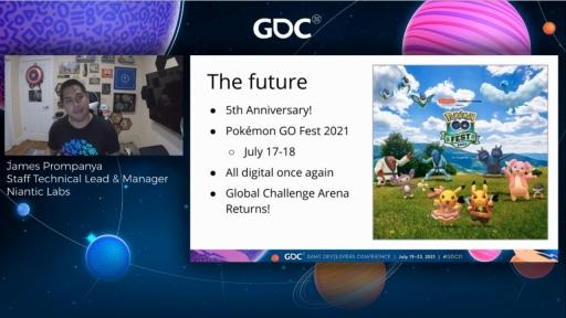 画像集#014のサムネイル/[GDC 2021]「ポケモンGO」の大型イベント・Pokémon GO Fest 2020を振り返る。初のバーチャル開催はどのように成功したか
