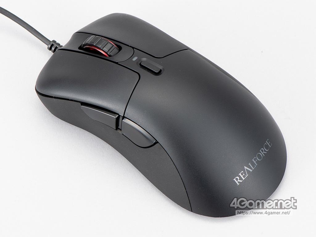 東プレ初の静電容量式スイッチ採用マウス「REALFORCE MOUSE」がついに登場。ソフトで静かなクリックが特徴だ thumbnail