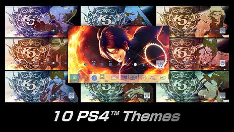 画像集#011のサムネイル/PS4向けDL版「KOF XIV ULTIMATE EDITION」の配信が本日開始。本編に加え,DLCキャラ8体とDLC衣装10着,PS4用テーマ10種を収録