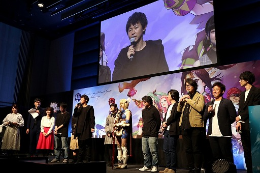 """画像(058)劇場版「誰ガ為のアルケミスト」は2019年6月に公開予定。来場客参加型イベントなどで盛り上がった""""3周年記念ファンミーティング""""をレポート"""