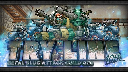"画像(001)「METAL SLUG ATTACK」,イベント""TRY LINE 10th""が開催"