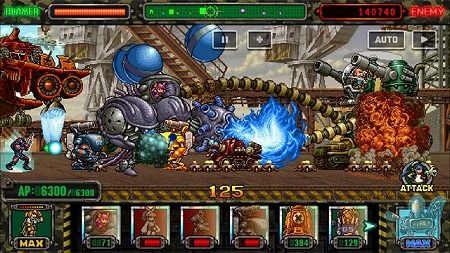 "画像(002)「METAL SLUG ATTACK」,イベント""TRY LINE 10th""が開催"