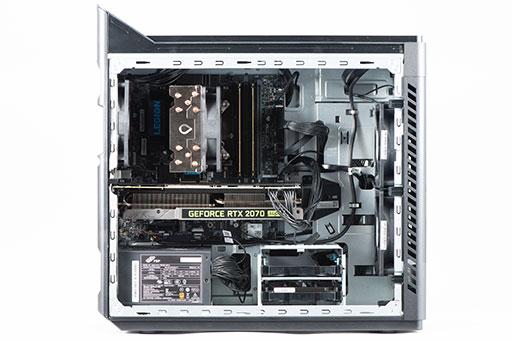 画像集#011のサムネイル/【PR】LenovoのデスクトップPC「Legion T550i」をゲームでチェック。ハイエンドのパワーでAAAタイトルも快適なPCだった