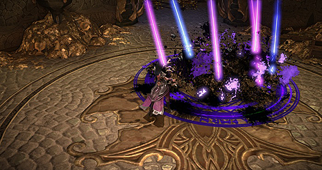 """画像(011)「MU LEGEND」に新クラス「ブラックファントム」が実装。遠距離からの強力な魔法攻撃を得意とする""""純粋なウィザードタイプ"""""""