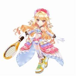 画像(002)「白猫テニス」のメインストーリー第2部1章が公開。シエラとセラータがガチャに登場