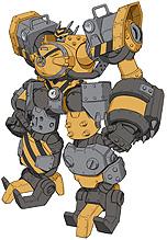 画像集#015のサムネイル/[TGS 2020]ロボットアクションRPG「メガトン級ムサシ」,機体のカスタマイズ機能などを紹介する最新PVが公開