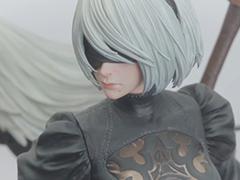 大ボリュームの「NieR:Automata」フィギュアが発表。スクエニ×プライム1スタジオによる「SQUARE ENIX MASTERLINE」の第1弾