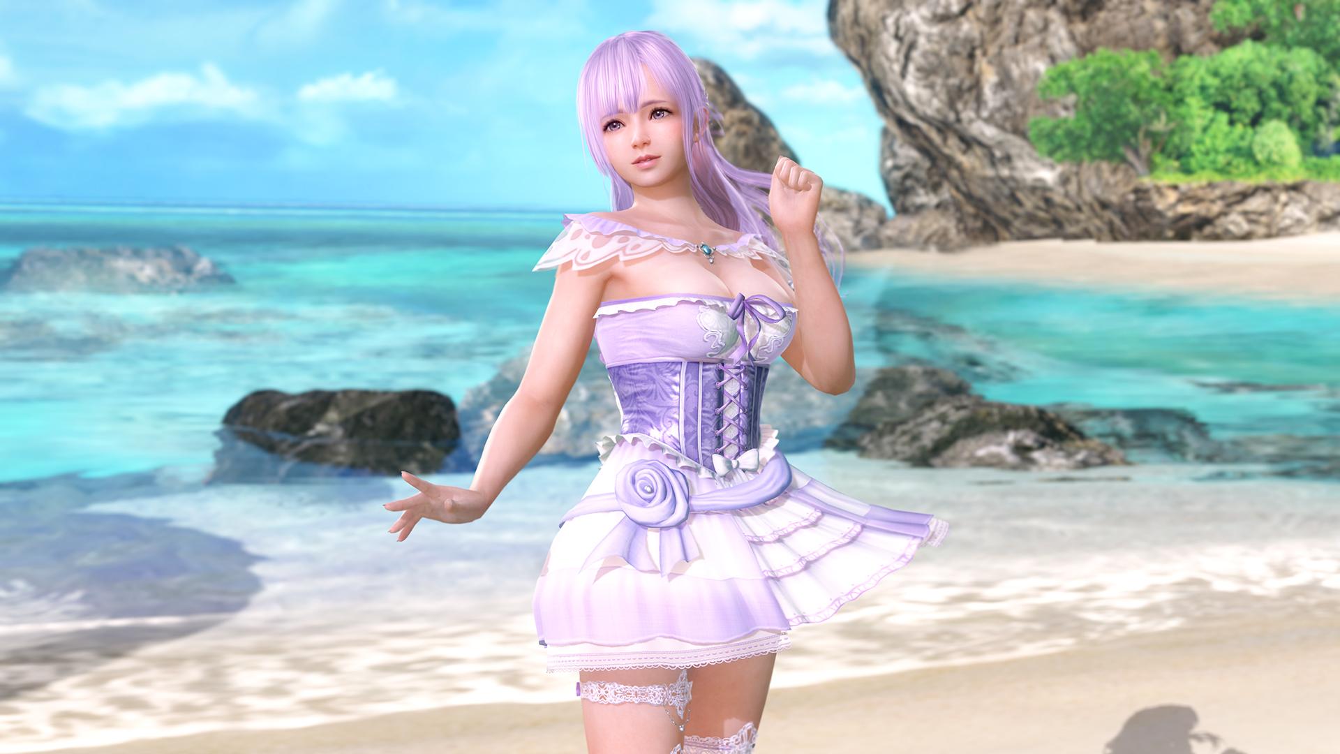 画像集/「DEAD OR ALIVE Xtreme Venus Vacation」の新キャラクター「フィオナ」(CV