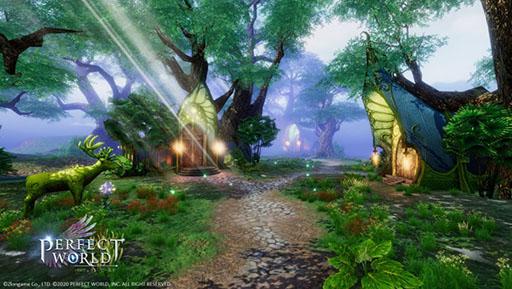 画像(002)MMORPG「パーフェクトワールド M」が2020年内に配信決定。PC版の壮大な世界観やゲームシステムをスマホ向けに再構築
