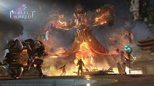 画像(004)MMORPG「パーフェクトワールド M」が2020年内に配信決定。PC版の壮大な世界観やゲームシステムをスマホ向けに再構築