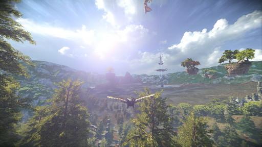 画像集#052のサムネイル/新作MMORPG「ELYON」プレイレポート。ファンタジーとSFの世界観を持つノンターゲティングアクションのファーストインプレッションをお届け