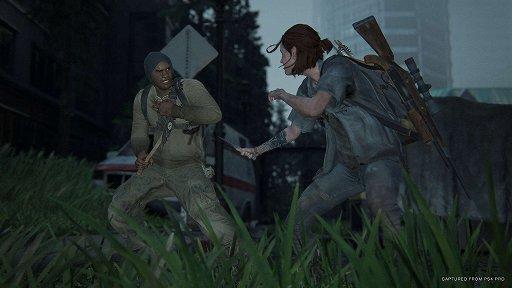 画像集#001のサムネイル/[GDC 2021]「The Last of Us Part II」の雨と血にまみれたリアルな情景と,泥臭いメレーアクションを実現させたテクニック