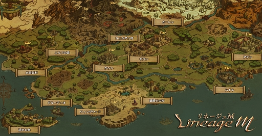Lineage M」,3週連続情報公開企画の第3弾として,「World of ADEN」の