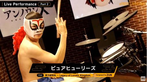 画像集#009のサムネイル/「INDIE Live Expo II」レポート。最新インディーズゲームの情報が次々と明かされ,ZUN氏の新曲も披露される