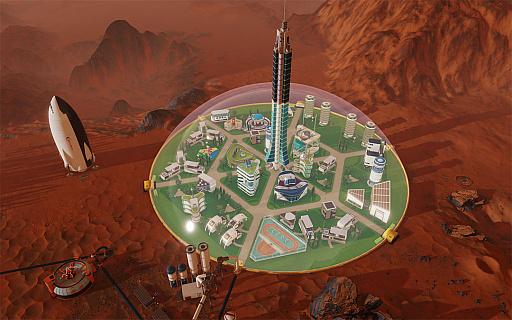 Paradox Interactive,火星の植...