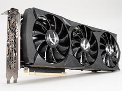 「ZOTAC GAMING GeForce RTX 2080 AMP」を写真でチェック。3連ファン付き独自クーラーを採用するRTX 2080搭載カードの見どころは?