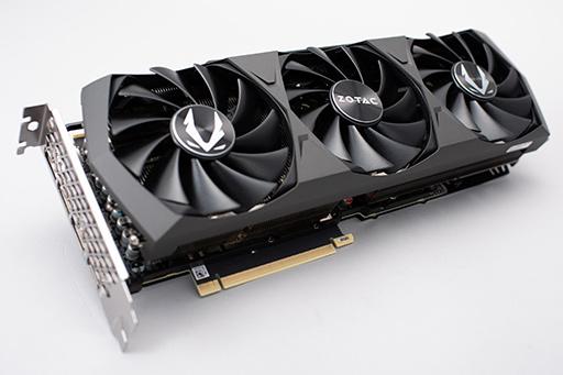 画像集#002のサムネイル/「GeForce RTX 3090」レビュー。8Kでのゲームプレイを謳うRTX 30シリーズ最強GPUの実力をZOTAC製「RTX 3090 Trinity」で検証する