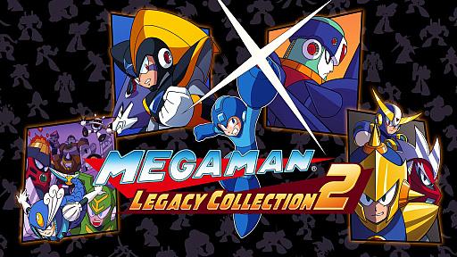 ロックマン7 から ロックマン10 までを収録した mega man legacy