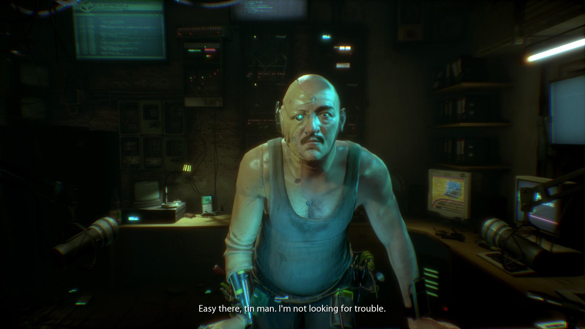 画像集 008 サイコホラーでサイバーパンクな Observer をプレイ 他人の脳をハッキングして 記憶に埋もれた証拠を見つけ出せ