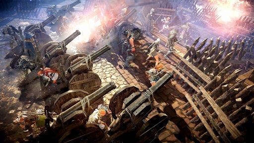 """画像(002)MMORPG「黒い砂漠モバイル」でギルドバトル系のコンテンツ""""拠点戦""""のβテストがスタート。大型アップデートが本日実施"""