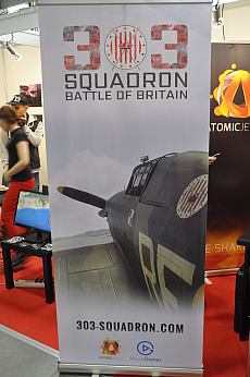 Poznań Game Arenaで「303 Squadron: Battle of Britain」をプレイ