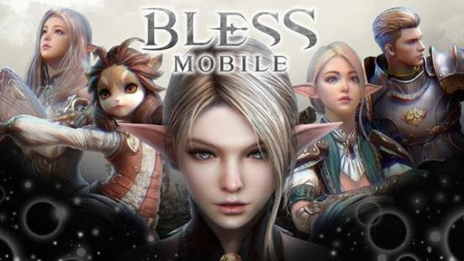 画像集#001のサムネイル/スマホ向けMMORPG「BLESS MOBILE」の正式サービスが本日スタート。料理人コスチュームなど事前登録特典も配布中