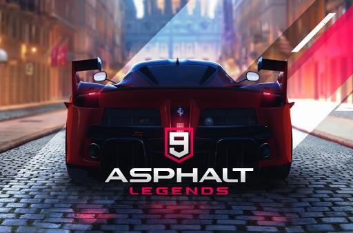 レースゲーム「アスファルト9:L...