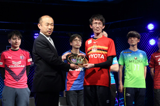 画像(012)「FIFA19」第2回eJ.LEAGUEが開催。参加プレイヤー355名の頂点は名古屋グランパスのミノ選手