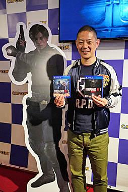 画像(007)多くのファンが駆けつけた「バイオハザード RE:2」発売記念イベント開催。神田プロデューサーへの合同インタビューも合わせてお届け