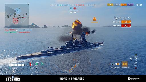 画像(002)「World of Warships: Legends」,クローズドβテストを12月21日より実施。事前登録受付もスタート