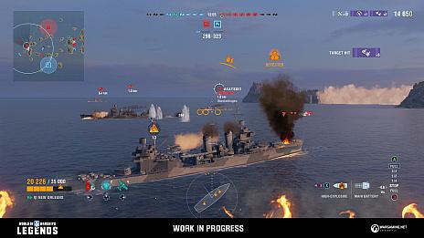 画像(003)「World of Warships: Legends」,クローズドβテストを12月21日より実施。事前登録受付もスタート