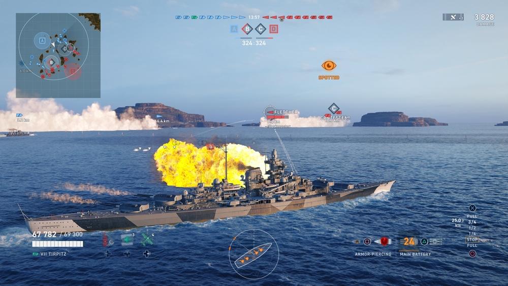 PS4版「World of Warships: Legends」の正式サービスが8月12日に