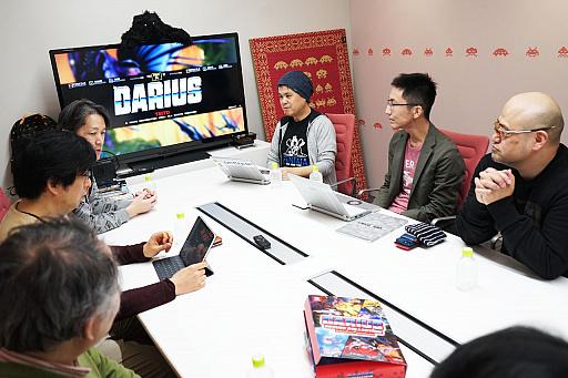 画像集#030のサムネイル/「ダライアス コズミックコレクション」発売記念,ゲーム業界「ダライアス」ファン6名による語り尽くしの座談会!