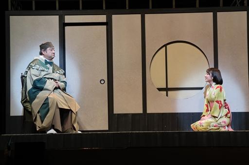 画像(006)舞台「信長の野望・大志 夢幻 〜本能寺の変〜」のゲネプロをレポート。史実を知る信長と光秀が本能寺で対面すると……