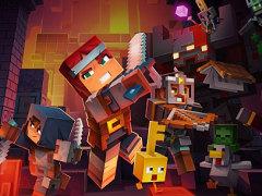 """「Minecraft Dungeons」がいよいよベールを脱いだ。""""マイニング""""も""""クラフティング""""もないけれど,仲間との冒険が楽しそうだ"""