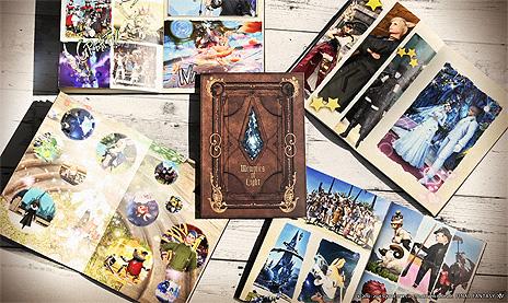 画像集#012のサムネイル/「FFXIV」のSSをまとめて自分だけの本が作れる。オンデマンド印刷サービス「カスタムオーダーフォトブック メモリーズオブライト」が開始
