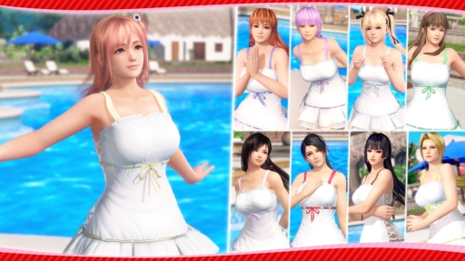 「DEAD OR ALIVE Xtreme 3 Scarlet」のコスチュームが25%OFFになるハロウィンセール開催