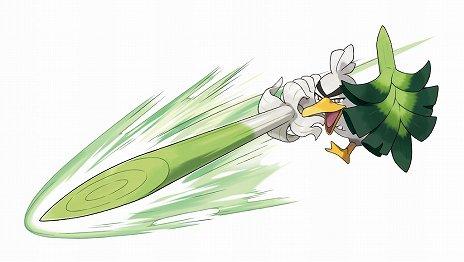 画像(005)「ポケットモンスター ソード・シールド」,「カモネギ」が進化した新ポケモン「ネギガナイト」が公開