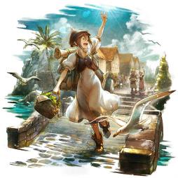 画像集#003のサムネイル/「オクトラ 大陸の覇者」お正月企画&新旅人トレサが公開