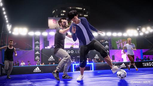 画像(006)「FIFA 20」,ストリートサッカーにフィーチャーした新モードVOLTAをプレイ。新システムや進化した物理演算でよりリアルに