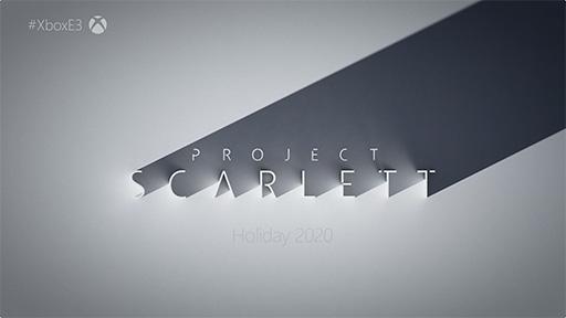 【ゲーム】Microsoft,次世代ゲーム機「Project Scarlett」を2020年のホリデーシーズンにリリース
