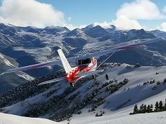 「Microsoft Flight Simulator」が天候に関するアップデートを実施。氷雪のリアルタイム表現が可能に