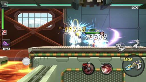 画像集#006のサムネイル/「ロックマンX DiVE」のノーダメージクリアキャンペーンに「エグゼ」のキャラで挑戦。勝利のカギはビッグストレートとフミコミザン?