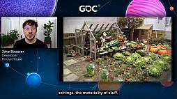 画像集#005のサムネイル/[GDC 2021]Google マップから作られた「Untitled Goose Game」のマップは,何を目指したのか